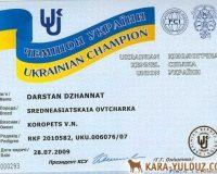 Dzhannat - Champion of Ukraine